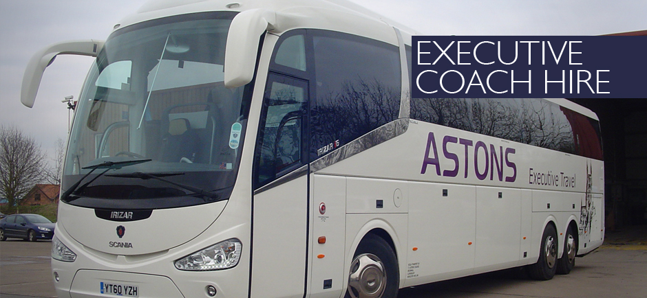 Executive, Luxury Coach Hire in Worcester, Gloucester, Birmingham & West Midlands